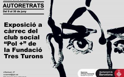 """Exposició """"Autoretrats"""": club social POL+"""