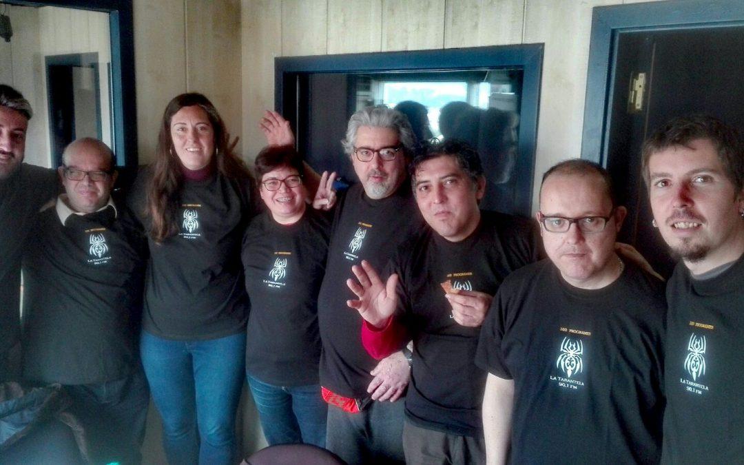 100 programes amb Ràdio La Tarantela