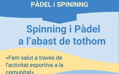 I Jornada Deportiva de Pádel y Spinning