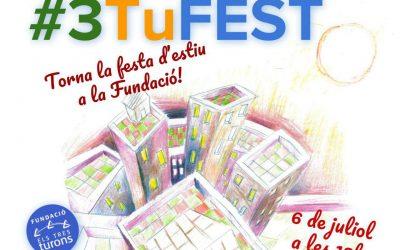 S'acosta la #3TuFEST una festa d'estiu que aquest any porta circ!