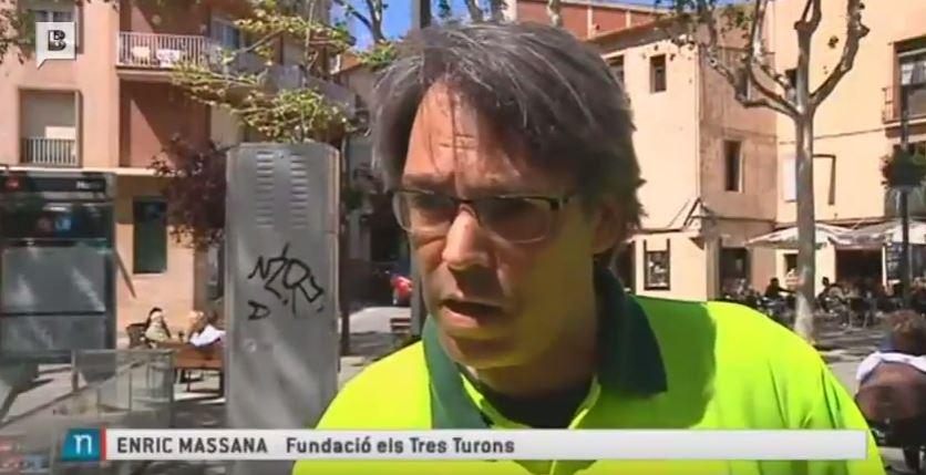 Horta-Guinardó instala jardineras en la plaça d'Eivissa y alrededores