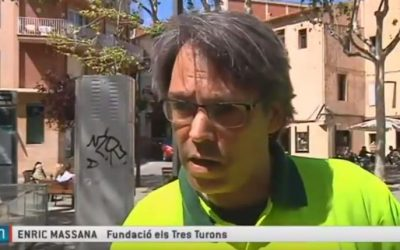 Horta-Guinardó instal·la jardineres a la plaça d'Eivissa i entorn