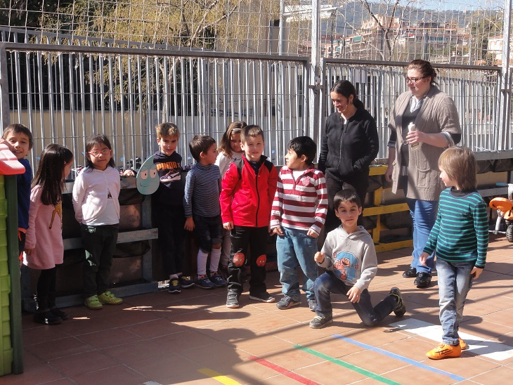 Colaboración con la Escola Torrent de Can Carabassa