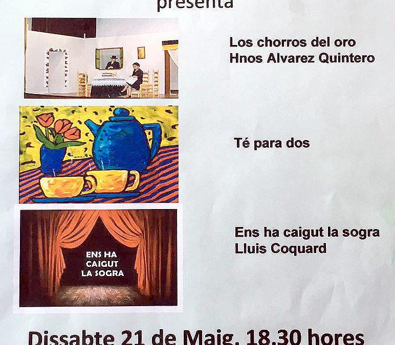 El sábado 21, subtitulado: 7 de Nou Teatre de la Asociación Nou Horitzó