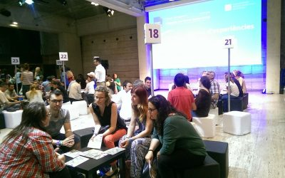"We have been in the ""5th Congress of the Third Sector"" with Service Learning"