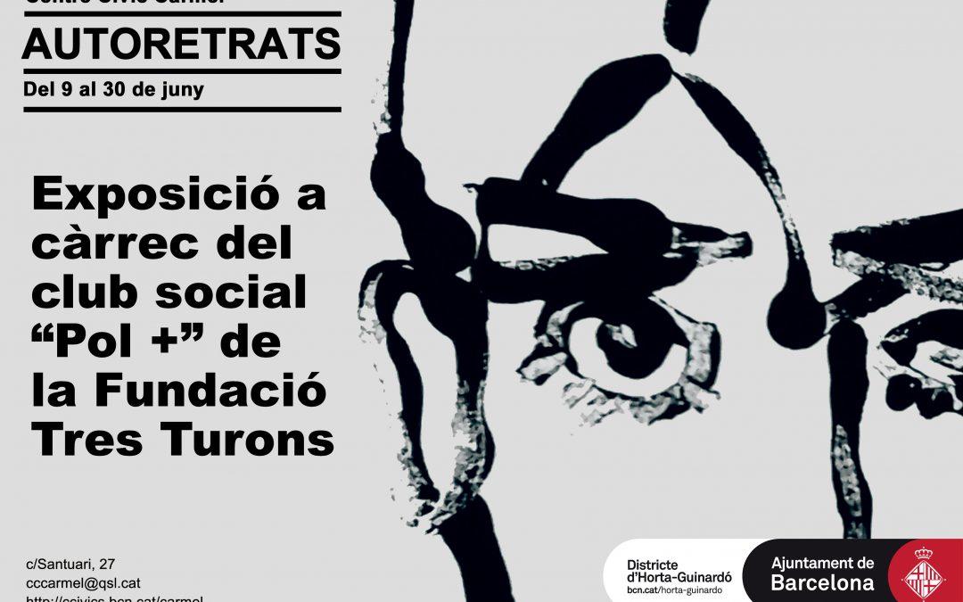 """Exposición """"Autorretrats"""": club social Polo Positiu"""