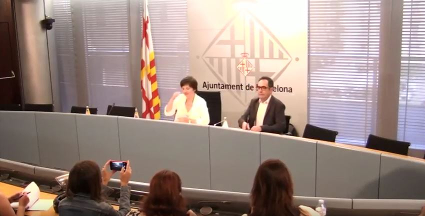 The Foundation in the presentation of the report of the network of employment of Barcelona