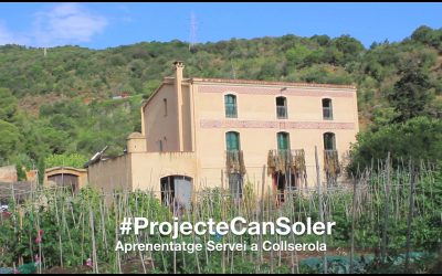 #ProjecteCanSoler – Learning Service Collserola