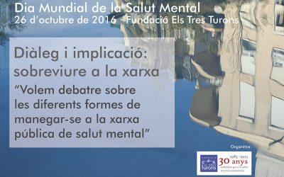 Celebració del Dia Mundial de la Salut Mental 2016