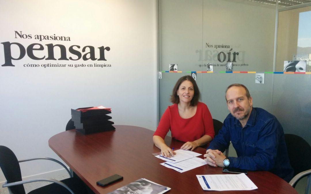La Fundación Els Tres Turons firma un Convenio de colaboración con la empresa Lunet