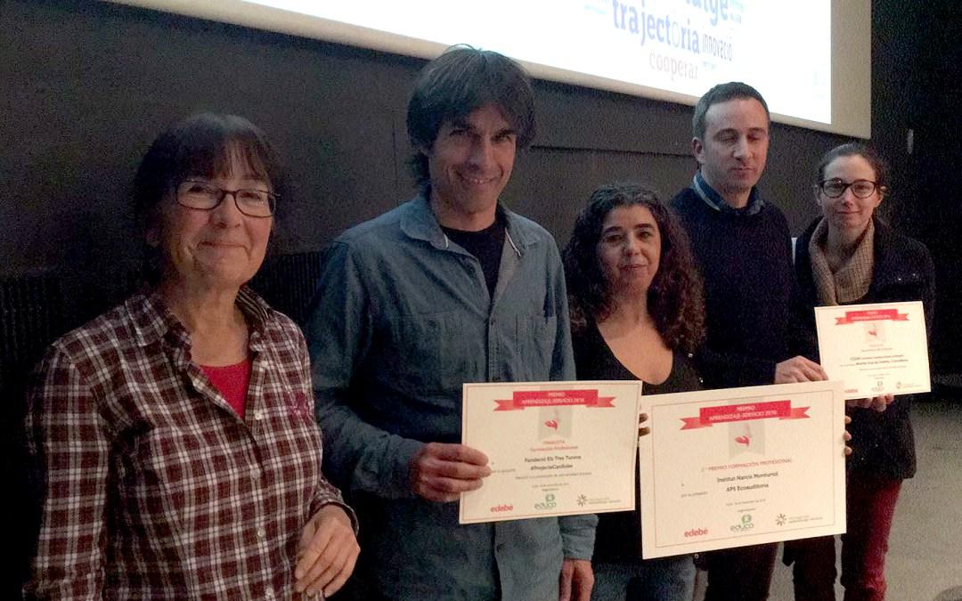 El #ProjecteCanSoler finalista en el IX Encuentro Estatal de Aprendizaje Servicio