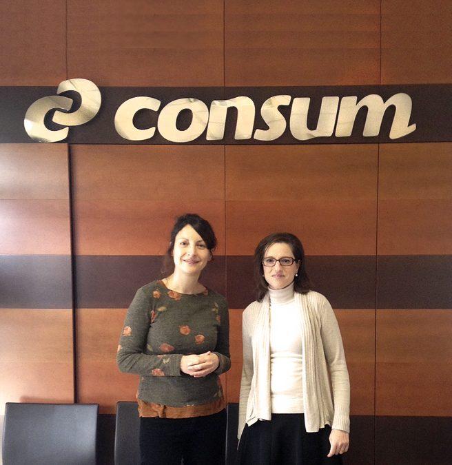CONSUM colabora con nuestro servicio de inserción laboral
