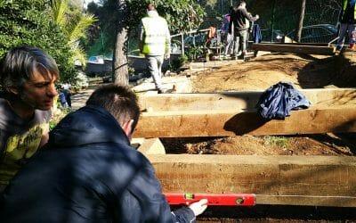 Traslladem els horts a l'Escola Font d'en Fargas