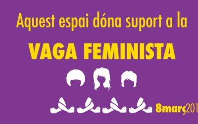 Vaga general feminista del 8 de març
