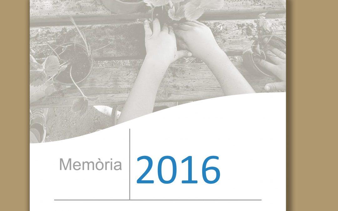 Ya tenemos la memoria 2016