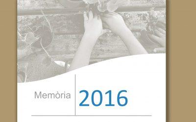 Ja tenim la memòria 2016