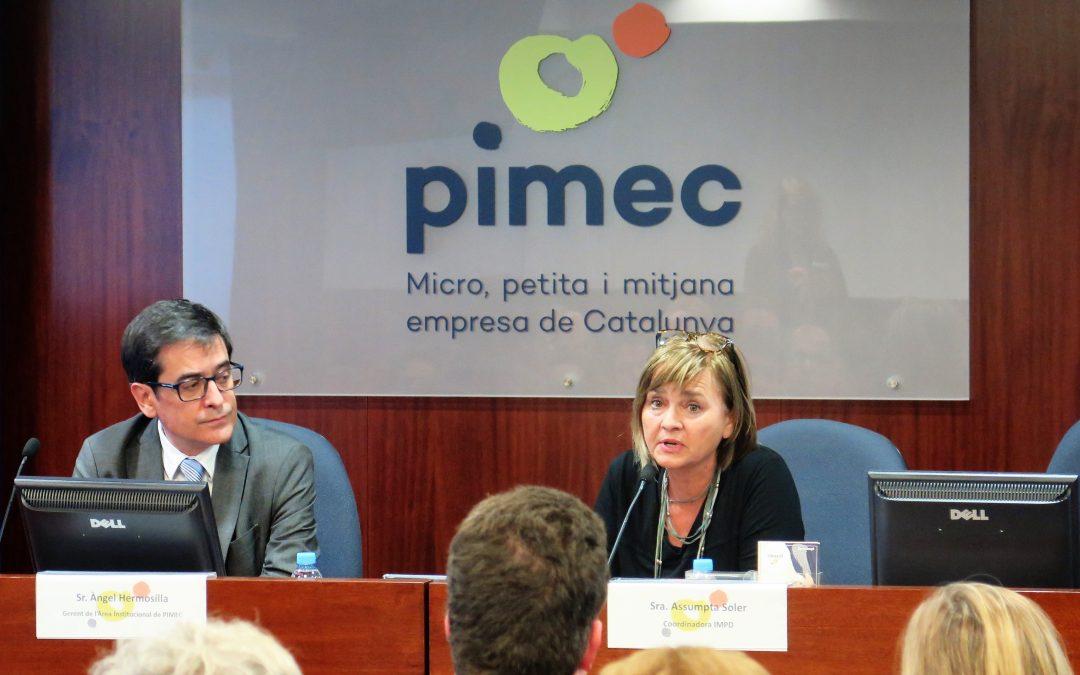 El servicio Inclou Futur se presenta en PIMEC
