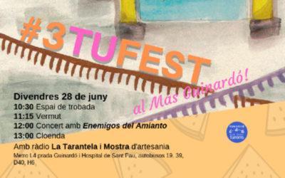 Celebrem l'estiu al Mas Guinardó amb la #3TuFest 2019