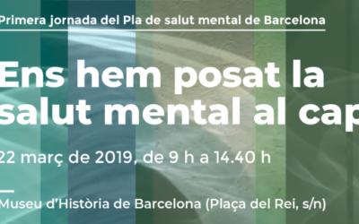 Primera jornada sobre el Pla de Salut Mental a Barcelona