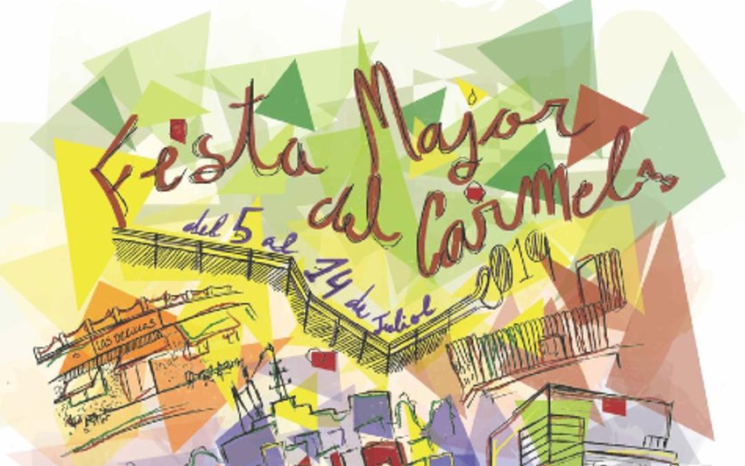 La Comissió de la Festa Major del Carmel rep la Medalla d'Honor de Barcelona