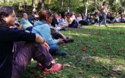 Aprenem com afavorir usos saludables del bosc al congrés Selvans
