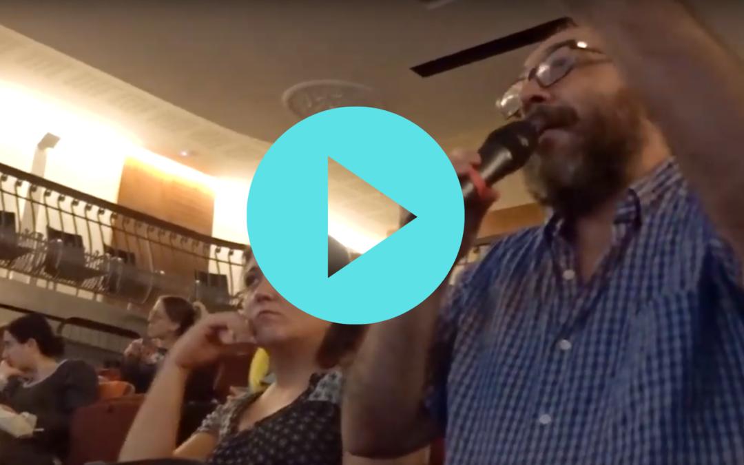 Vídeoresumen del debate en el Dia Mundial