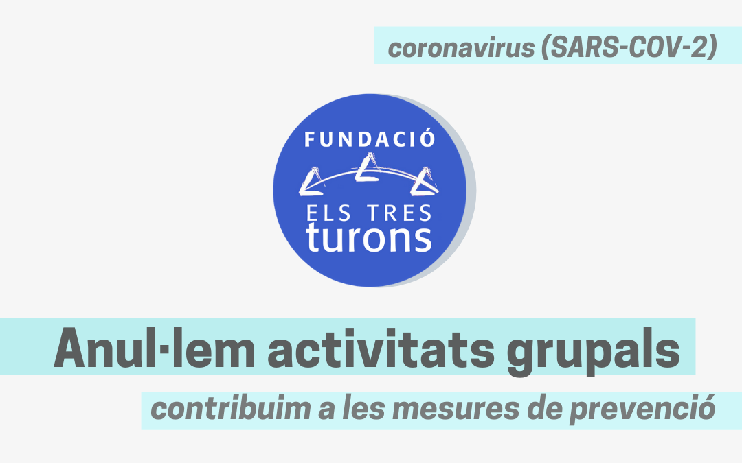 Comunicat sobre les actuacions preventives en relació al coronavirus SARS-COV-2