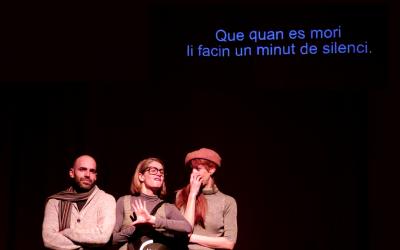 Passar Via colabora en la accessibilidad del teatro Maldà