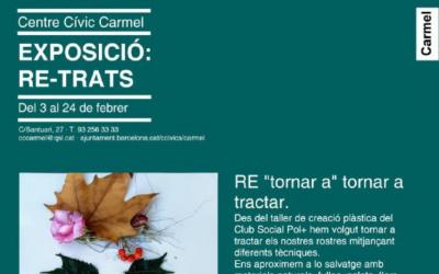 El Club Social Pol Positiu expone virtualmente 'Re-Trats'