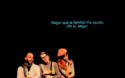 Sobretitulación en el teatro Maldà de la mano de Passar Vía