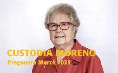 Custodia Moreno pregonera de la Mercè 2021 y patrona de la Fundació