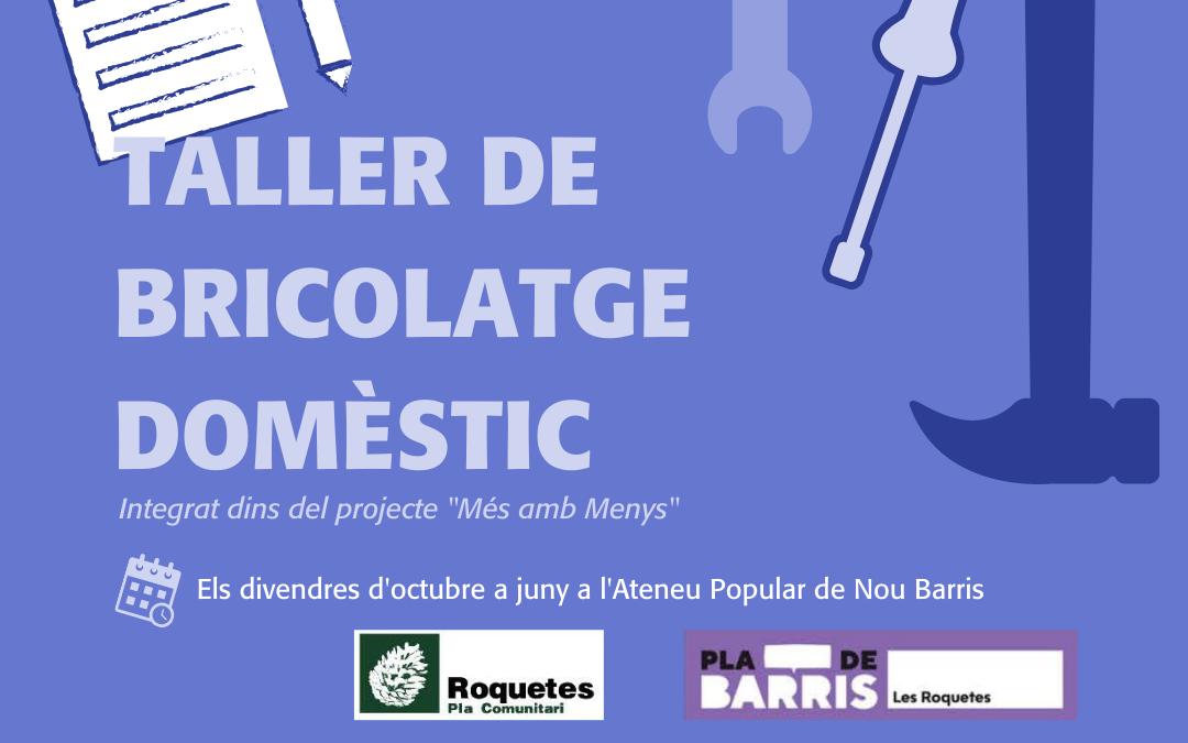 Un taller de bricolaje para trabajar la prevención en Roquetes
